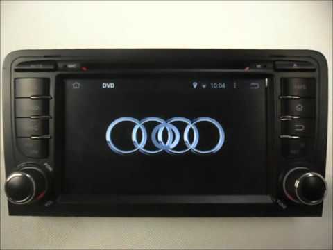 audi a3 2003 2013 android auto radio dvd gps wifi youtube. Black Bedroom Furniture Sets. Home Design Ideas