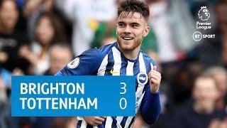 Brighton vs Tottenham (3-0)   Premier League Highlights