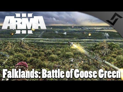 Falklands: Battle of Goose Green - ARMA 3 BAF Mod Gameplay