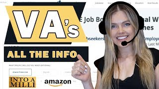 Virtual Assistants - Amazon FBA business to the next level - EVERYTHING YOU NEED.