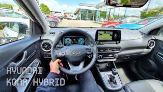 New Hyundai Kona Hybrid Facelift 2021 Test Drive Review POV