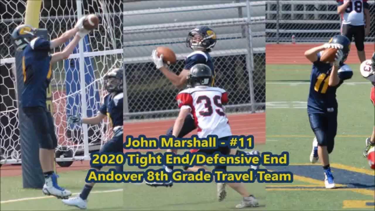 2015 John Marshall 8th Grade Football Highlights Youtube