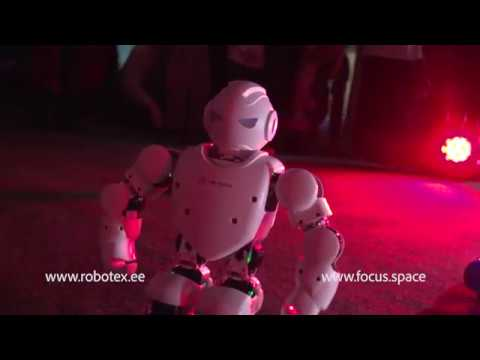The first-ever concert organized for robots in Estonia
