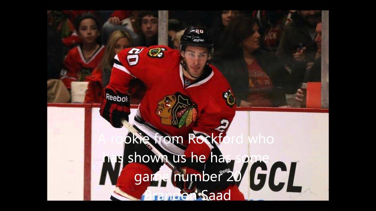 2012 2013 chicago blackhawks roster youtube