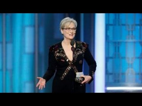 Thumbnail: Tucker Carlson on Meryl Streep's Golden Globes rant
