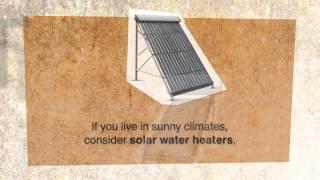 Reduce your water heating bills