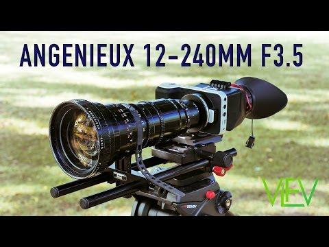 Angenieux 12-240mm F3.5   TEST VIDEO   Shot on BMPCC