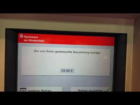 Gebührenfrei Bargeld Abgeben Mit Der N26 Debit MC Am Geldautomaten Der Sparkasse Moers