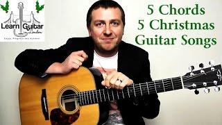 Easy Christmas Guitar Songs