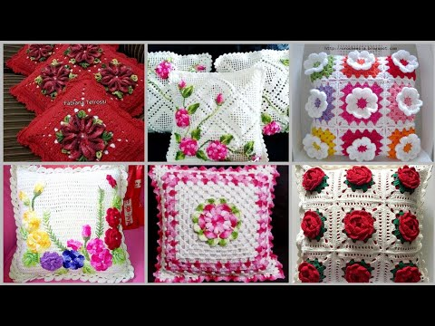 Outstanding Luxury Crochet Cushions Designs Patterns //Crochet Patterns For Cushions And Pillows