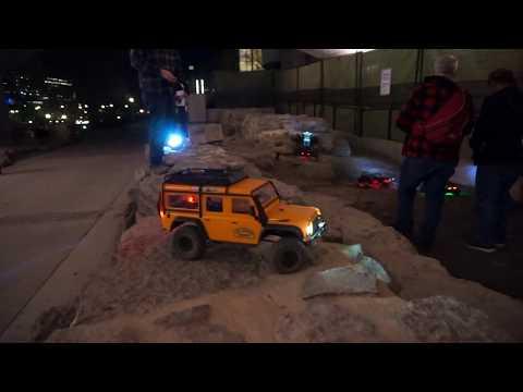 RC Rock Crawling at Night! Ottawa Rock Crawlers + Netcruzer RC
