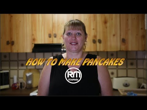 How to make Pancakes the yummy way