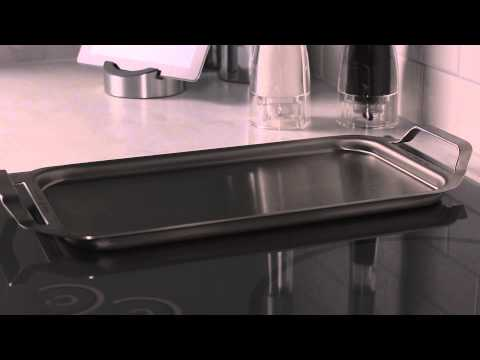 GE Café Induction Cooktops – Stainless Steel Griddle