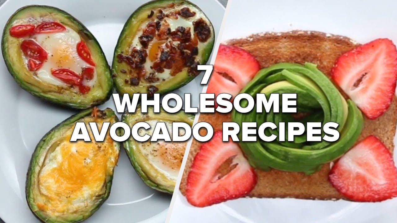 7 Wholesome Avocado Recipes