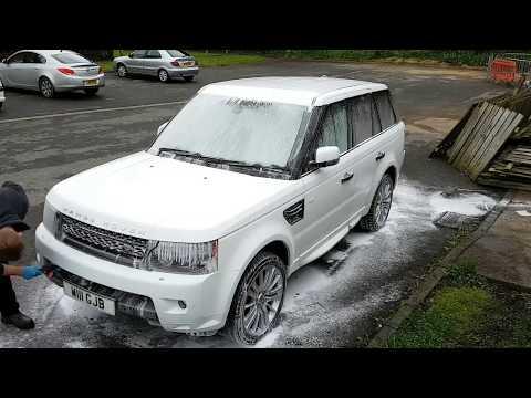 White Range Rover Sport Detailed | Cobra Detailed
