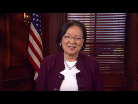 A Message from U.S. Senator Mazie Hirono