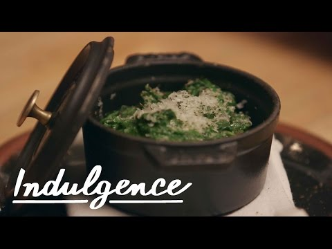 Making Steakhouse-Style Creamed Spinach Isn