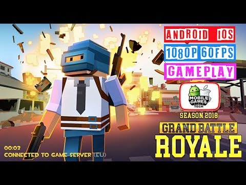 Grand Battle Royale: Pixel War Android IOS Gameplay 1080p 60fps