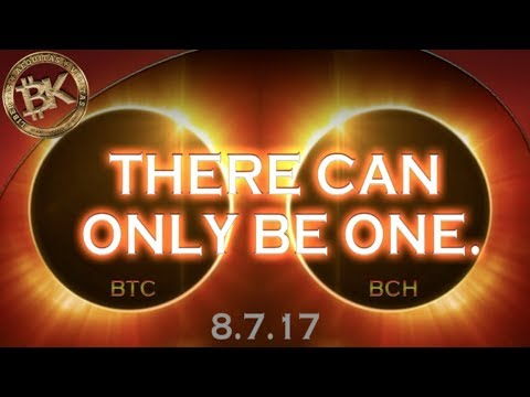 BITCOIN CASH vs BITCOIN Price Chart 💰 2017 Crypto Currency T