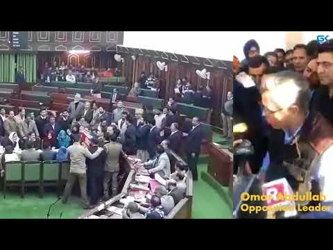 Uproar in Jammu & Kashmir assembly over Kulgam killing; Omar lambasts govt