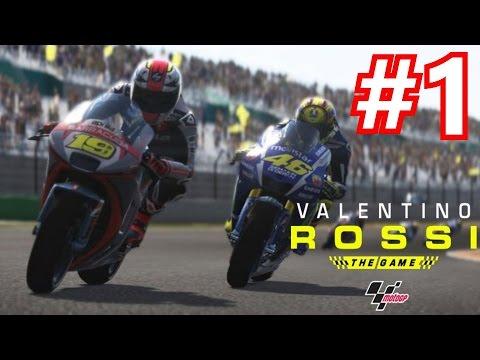 Valentino Rossi Game Career Mode Part 1 Racing The Legend Motogp