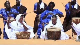 SAHEL MUSIC FESTIVAL IN THE DESERT - BBC NEWS