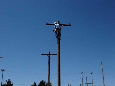 Arizona fast Lineman Climber