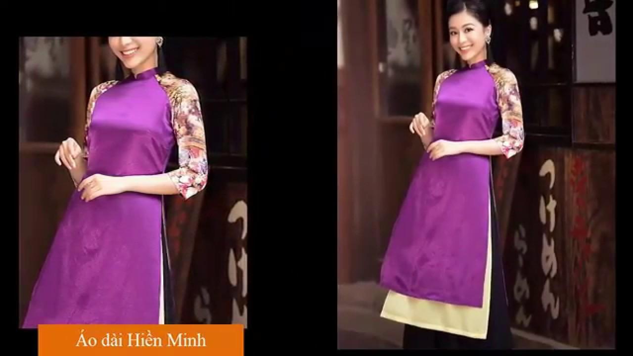 Áo dài cách tân cho tuổi trung niên – Mẫu áo dài cách tân đi chùa đẹp nhất