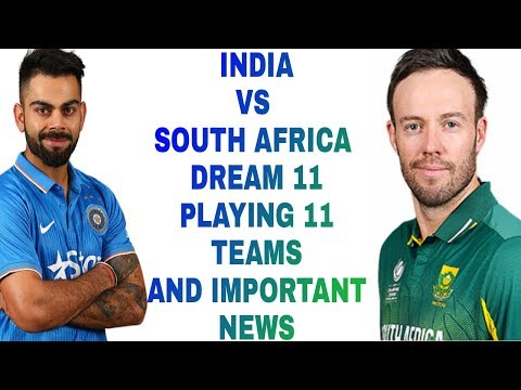 SA vs IND 1st T20 Dream11 Fantasy Cricket team – India tour of South Africa 2017-18