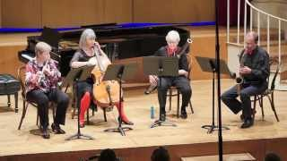 Quartet for flute, sax, bassoon and cello: 5th movement (Joe Wolfe)