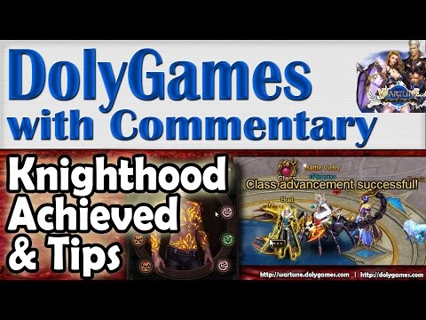➜ Wartune Achievement & Tips - COSMOS Knight Achieves Knighthood