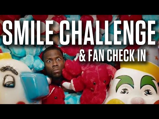 Smile Challenge with My Crew & More with Kevin   Kevin Hart