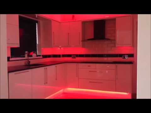 id e d co cuisine ruban led youtube. Black Bedroom Furniture Sets. Home Design Ideas