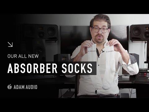 The ALL NEW ADAM Audio Absorber Socks | ADAM Audio