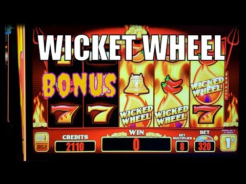 Playing Wicked Wheel and Diamond Slots! Got Good Win! - 동영상