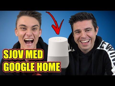 Sjov med Google Home