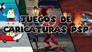 Los 5 mejores juegos de caricaturas para PSP | luigi2498 | HD