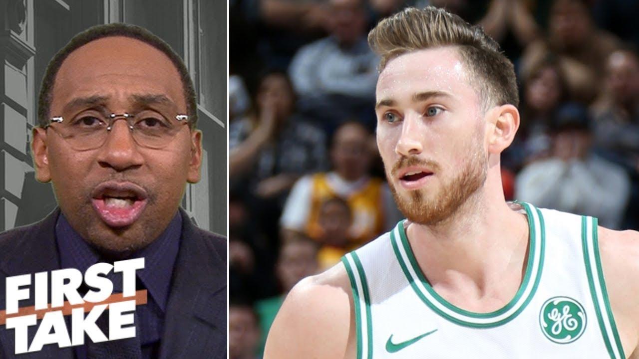 Stephen A. Smith: Gordon Hayward is Celtics' biggest problem | First Take