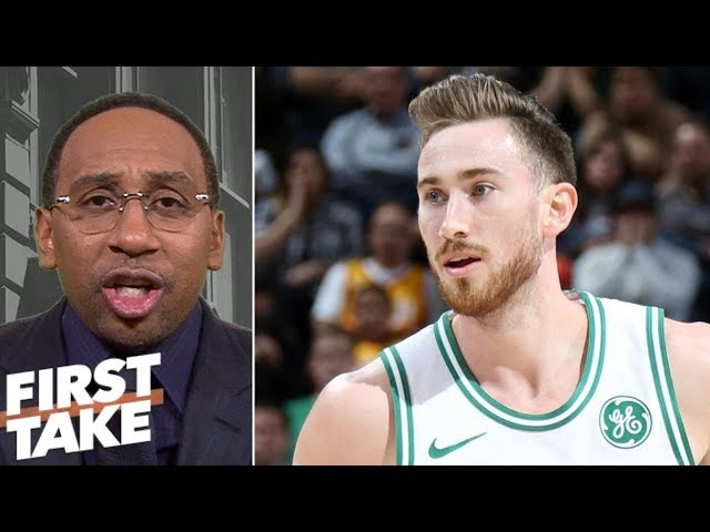 Stephen A. Smith: Gordon Hayward is Celtics biggest problem | First Take