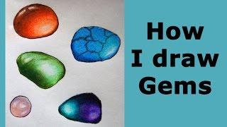 How I  color gemstones - Carnelian, Jade,  Turquoise, Fluorite