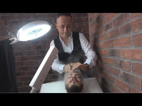 ASMR Turkish Barber Massage with Professional Facial Treatment 170