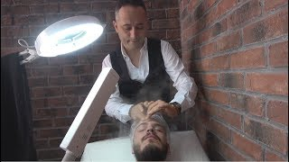 ASMR Turkish Barber Massage with Professional Facial Treatment 170