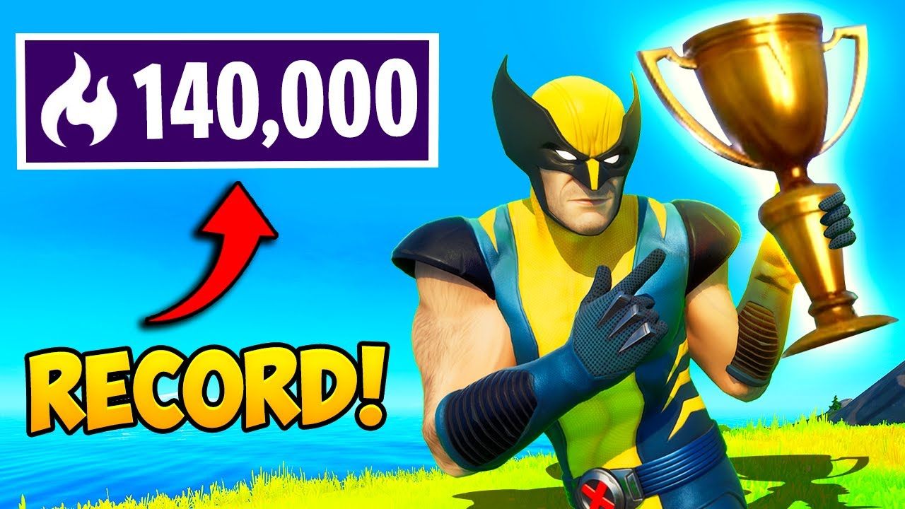 *WORLD RECORD* 140,000 ARENA POINTS!! - Fortnite Funny Fails and WTF Moments! #1055