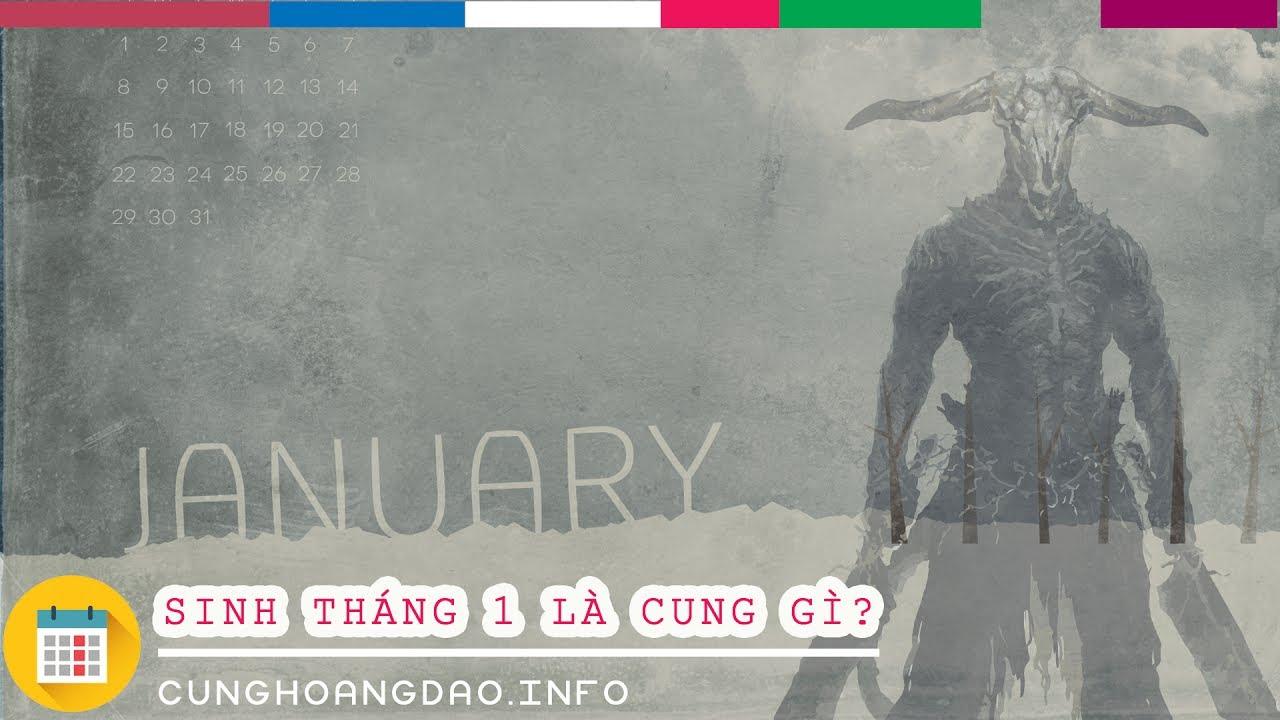 Sinh tháng 1 là cung hoàng đạo gì? | Cunghoangdao.info