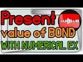 Present Value of bond calculation with Numerical JAIIB CAIIB Banking and finance