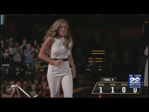 Brynn Cartelli moves into the final four on NBC's The Voice
