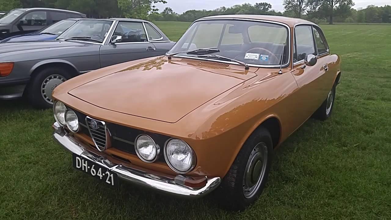 1969 alfa romeo gtv 1750 - youtube