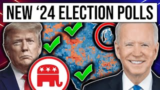 SHOCKING NEW 2024 Presidential Election Polls | 2024 Election Analysis