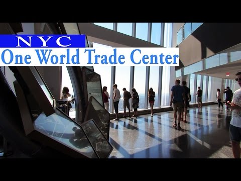 HQ - Inside One World Trade Center - Observatory  - NYC 2016