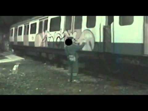 criminal damage video graffiti movie part 9 of 9 london subway